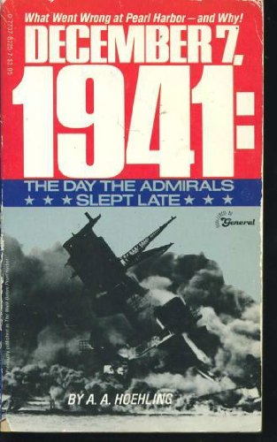 9780773782259: December 7, 1941 : The Day the Admirals Slept Late