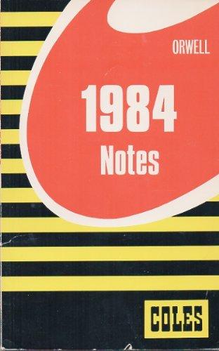 9780774033268: 1984 (Coles Notes)
