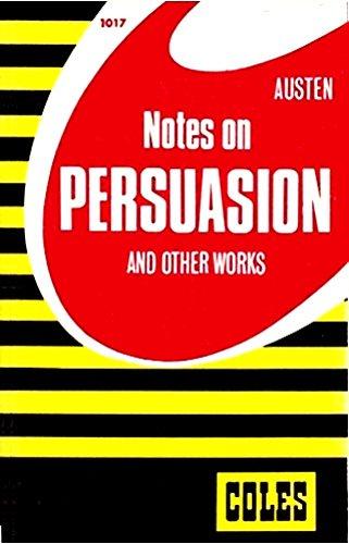 9780774033565: Persuasion (Coles Notes)