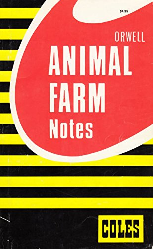 9780774036795: Animal Farm (Coles Notes)