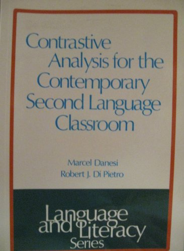 9780774403528: Contrastive Analysis for the Contemporary Second Language Classroom (Language and Literacy Series)