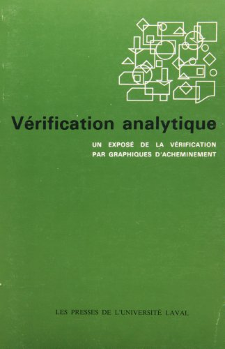 V?rification analytique: SKINNER / ANDERSON