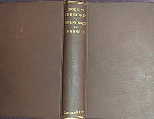 9780774701372: Roget's Thesaurus of English Words and Phrases