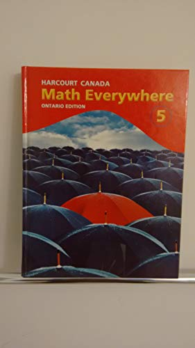 Math Everywhere 5 Ontario Edition (Hardcover): Peter Rasokas, Barry
