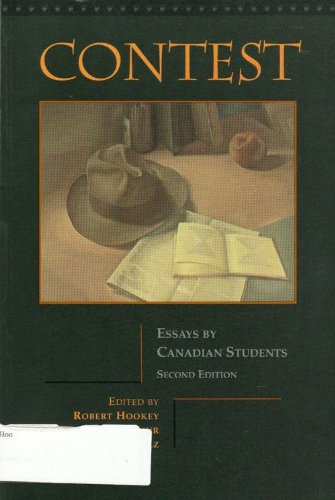 9780774732192: Contest. Essays By Canadian Students