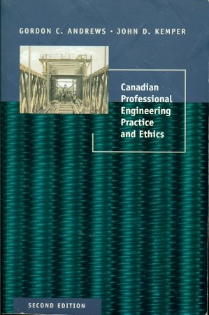 9780774735018: Canadian Professional Engineering Practice and Ethics