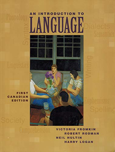 9780774735094: An Introduction to Language [Paperback] by Victoria A. Fromkin