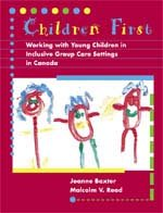 Children First: Working with Young Children in: Joanne Baxter, Malcolm