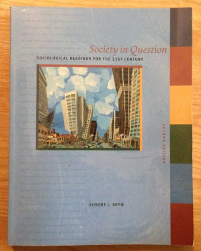9780774736466: Society in Question, (Canadian)