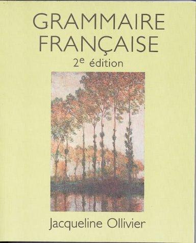 9780774736664: Grammaire Francaise