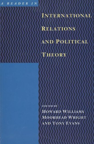 9780774804394: A Reader in International Relations and Political Theory