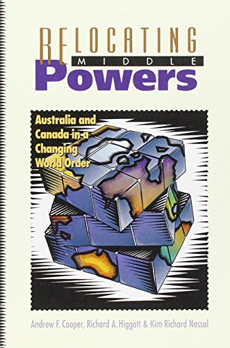 9780774804509: Relocating Middle Powers: Australia and Canada in a Changing World Order (Canada and International Relations, 6)