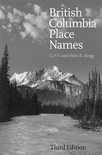 British Columbia Place Names