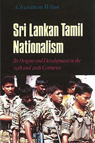 9780774807609: Sri Lankan Tamil Nationalism: Its Origins and Development in the Nineteenth and Twentieth Centuries