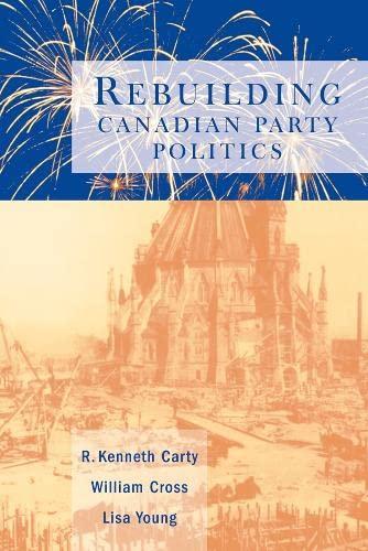 9780774807784: Rebuilding Canadian Party Politics