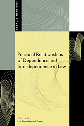 Personal Relationships of Dependence and Interdependence in Law: Law Commission of Canada
