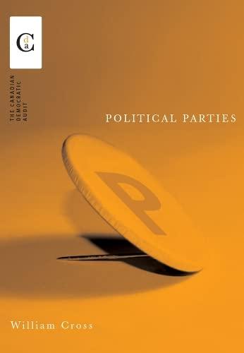 9780774809412: Political Parties (Canadian Democratic Audit)