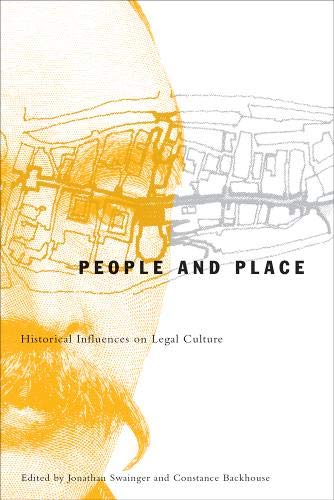 9780774810326: People and Place: Historical Influences on Legal Culture (Law and Society)