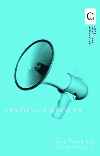 9780774811101: Advocacy Groups