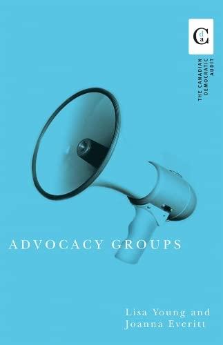 9780774811118: Advocacy Groups