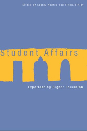 9780774811149: Student Affairs: Experiencing Higher Education