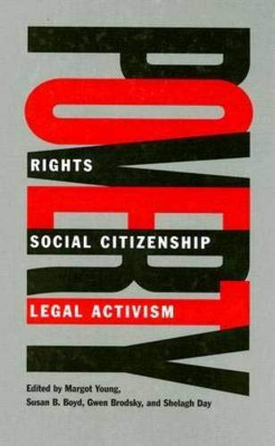 Poverty: Rights, Social Citizenship, and Legal Activism (Hardback)