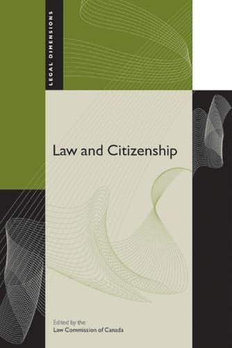 9780774812993: Law and Citizenship (Legal Dimensions)