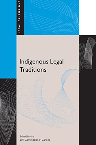 Indigenous Legal Traditions (Legal Dimensions)