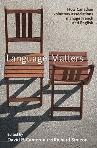 Language Matters: How Canadian Voluntary Associations Manage French and English (Hardback)