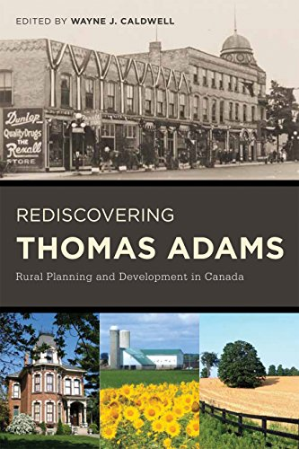 9780774819237: Rediscovering Thomas Adams: Rural Planning and Development in Canada
