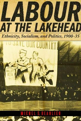 Labour at the Lakehead Ethnicity, Socialism, and Politics 1900 - 35: Beaulieu, Michel S.