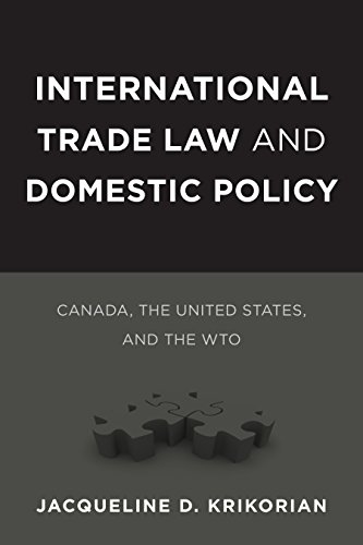 International Trade Law and Domestic Policy: Canada, the United States, and the WTO (Law and ...