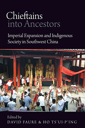 9780774823692: Chieftains into Ancestors: Imperial Expansion and Indigenous Society in Southwest China (Contemporary Chinese Studies)