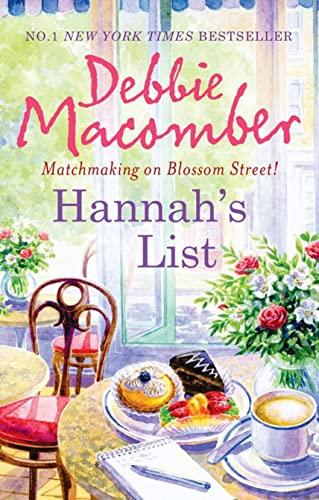 9780778303794: Hannah's List (Blossom Street, Book 7)