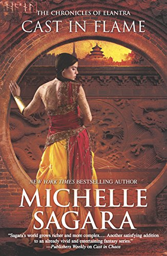 9780778317081: Cast in Flame (The Chronicles of Elantra)