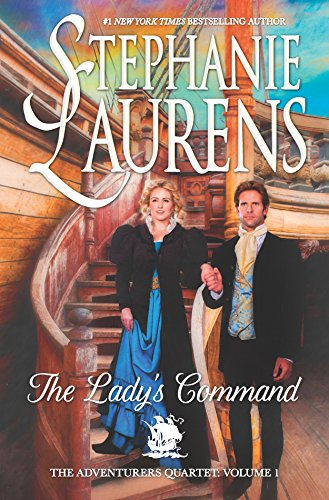 9780778319382: The Lady's Command (The Adventurers Quartet-HC Library Edition)