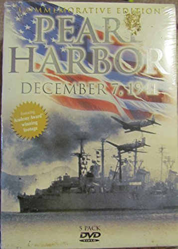 9780778611158: Pearl Harbor, December 7, 1941, Commemorative Edition, 5-pack dvds