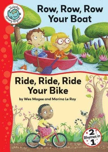 9780778711490: Row, Row, Row Your Boat/Ride, Ride, Ride Your Bike (Tadpoles: Nursery Rhymes)