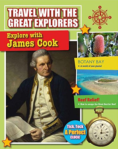 9780778717010: Explore with James Cook (Travel with the Great Explorers)