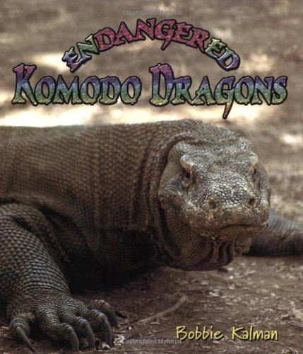 9780778719038: Endangered Komodo Dragons (Earth's Endangered
