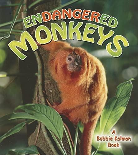 Endangered Monkeys (Earth's Endangered Animals (Paperback)): Molly Aloian