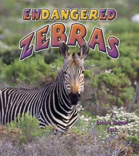 9780778719106: Endangered Zebras (Earth's Endangered Animals)
