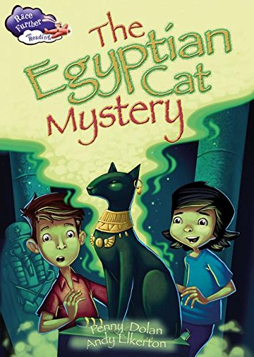 9780778721086: The Egyptian Cat Mystery (Race Further With Reading)