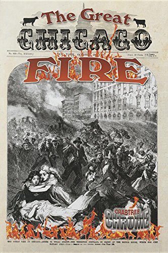 The Great Chicago Fire (Paperback): Robin Johnson