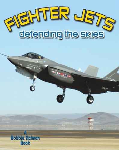 9780778727538: Fighters Jets Defending the Skies (Vehicles on the Move)
