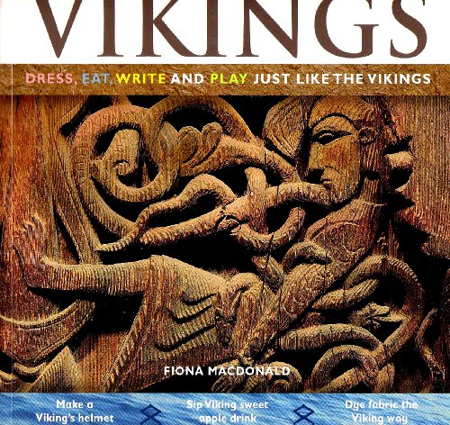 9780778740728: Vikings: Dress, Eat, Write and Play Just Like the Vikings (Hands-On History)