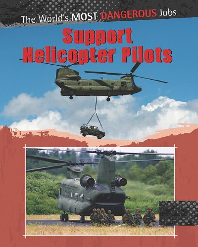 Support Helicopter Pilots: Chris Oxlade; Antony