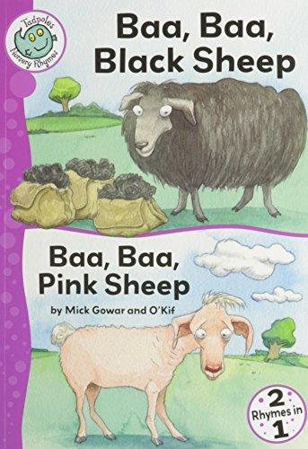 9780778778950: Baa, Baa, Black Sheep and Baa, Baa, Pink Sheep (Tadpoles Nursery Rhymes)