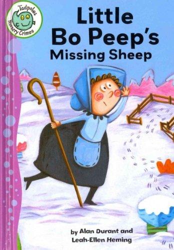 9780778780298: Little Bo Peep's Missing Sheep (Tadpoles: Nursery Crimes)
