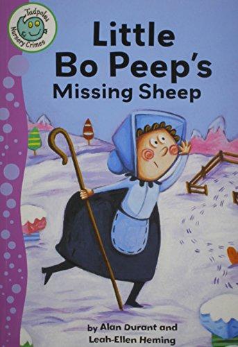 9780778780403: Little Bo Peep's Missing Sheep (Tadpoles: Nursery Crimes)